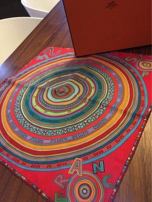 Hermès Pañuelo de seda multicolor