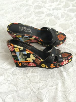 Luxus Pur! Salvatore Ferragamo Wedges,NP:600$