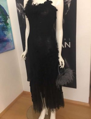 couture Cocktail Dress black