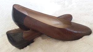 Luxus Salvatore Ferragamo Pumps Schuhe Echt Leder Budapester gr 36, 37