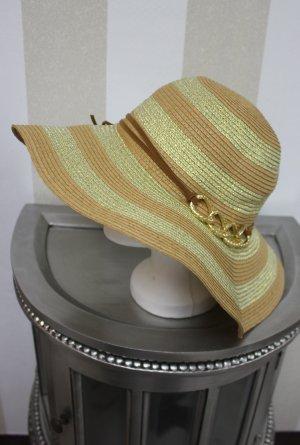 LUXUS SCHNÄPPCHEN !NEU Hut mit gold Kette Design