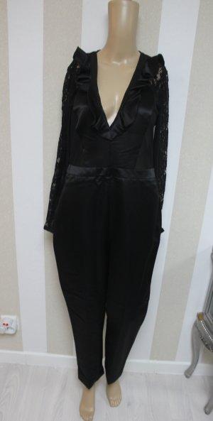 LUXUS SCHNÄPPCHEN !NEU Overall Jumpsuit Playsuit Anzug Spitze Lace chic