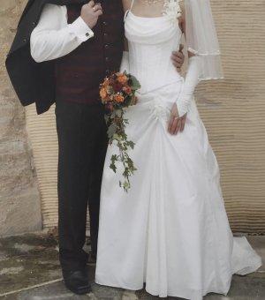 Luxus schön Brautkleid Jacke Bolero Marke Weise 36 S Hochzeit