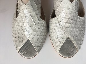 Attilio giusti leombruni High Heels light grey