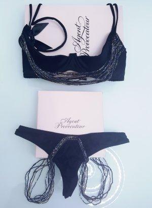 Agent Provocateur Set lingerie nero-bronzo