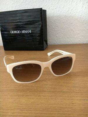 Luxus Sonnenbrille von Moschino cremefarbenes Gestell
