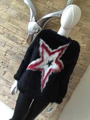 LUXUS - TOMMY HILFIGER COLLECTION Fake Fur Sweater - NP 589€