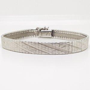 Luxus Vintage Massiv 835 Silber Armband Silberarmband Juwelier Meisterpunze