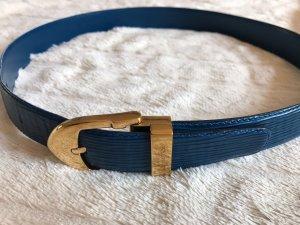 LV Gürtel in blauem Epi Leder