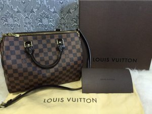 LV Louis Vuitton 100% original SPEEDY 30 MIT SCHULTERRIEMEN
