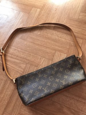LV louis vuitton handtasche braun vintage