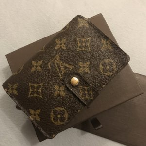Louis Vuitton Bolso de mano marrón metal