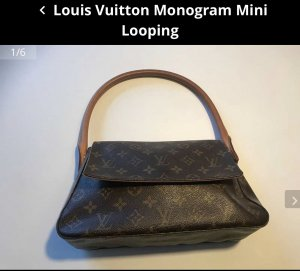 LV Monogram Mini Looping