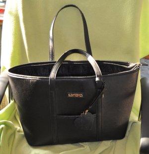 LYDC London Carry Bag black imitation leather