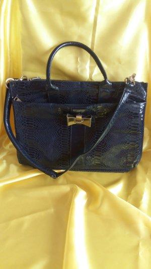 LYDC London Briefcase dark blue