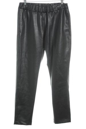 Lyvem Leren broek zwart Biker-look