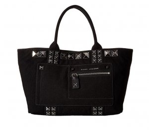 Marc Jacobs Tote black-silver-colored