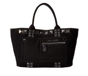 Marc Jacobs Bolso de compra negro-color plata