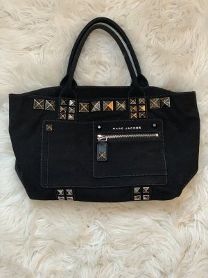 Marc Jacobs Tote zwart-zilver Polyester