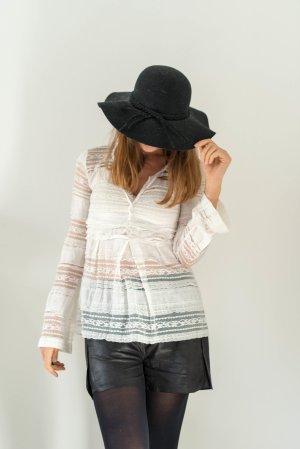 Manila Grace Kanten blouse wit