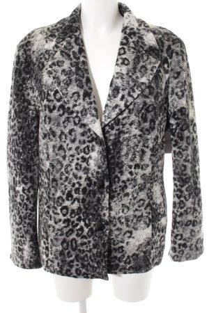 M. Asam Blazer corto Stampa leopardata stile da moda di strada