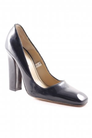 M by Madonna Escarpins Mary Jane noir-brun sable style d'affaires