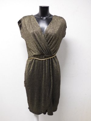 M&CO. DAMEN KLEID GR 40/ 42 DE / GOLD-GLITZERNT & ELEGANT - CHIC