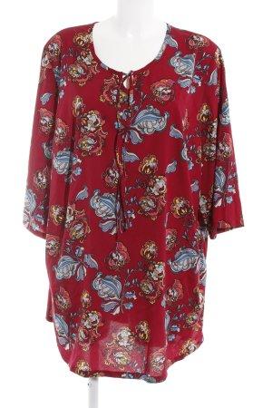 M. Collection A-lijn jurk bloemen patroon