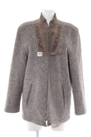 M&G Winterjacke grau-graubraun Vintage-Look
