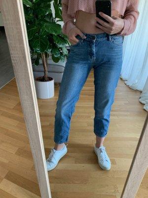 Mih jeans Jeans a 7/8 blu