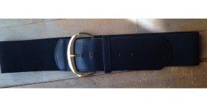 Urban Outfitters Cinturón de cuero negro