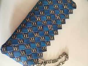 M&M Clutch royalblau