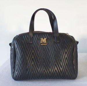 M Missoni Chevron Tasche schwarz Textil bag gesteppt