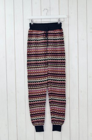 Missoni Woolen Trousers multicolored wool