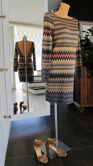 """M MISSONI"" Kleid , Gr: IT 42/D 36, schwarz/gold/pink/grau NP 699,-€ !!"