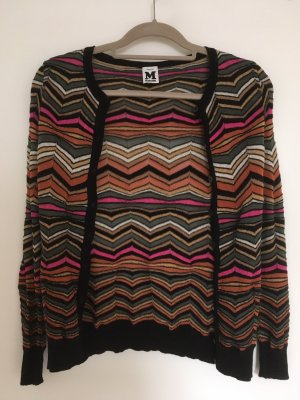M Missoni Strickjacke aus Merinowolle in XS