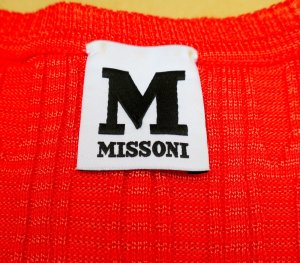 M Missoni Tank Top, Gr. S/M