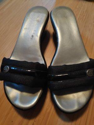 M&N Lackleder Clogs,Sandaletten,Gr.38