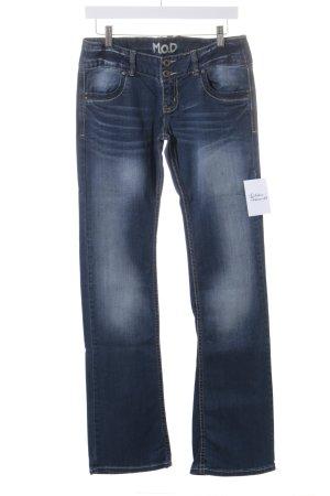 M.O.D. Boot Cut Jeans graublau-dunkelblau Jeans-Optik