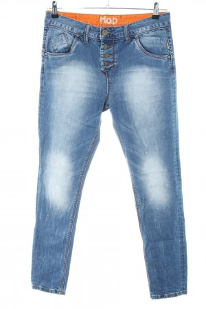 M.O.D. Slim Jeans blau Casual-Look