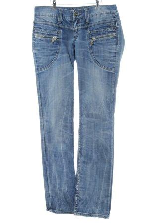 M.O.D. Straight-Leg Jeans blau Casual-Look