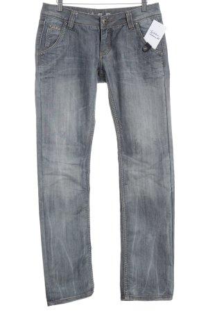 "M.O.D. Straight-Leg Jeans ""Caroline"" graublau"