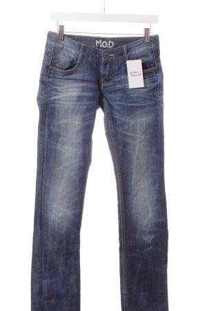 M.O.D. Straight-Leg Jeans dunkelblau Casual-Look
