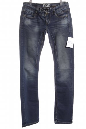 M.O.D. Stretch Jeans graublau Jeans-Optik