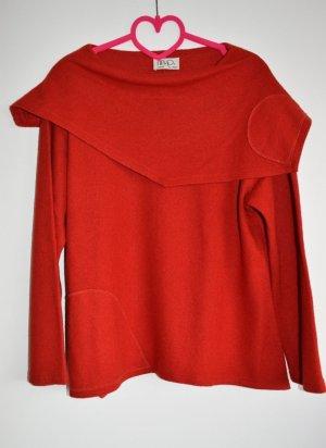 Jersey de lana naranja oscuro Lana