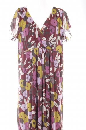 M&S Kurzarmkleid florales Muster Street-Fashion-Look