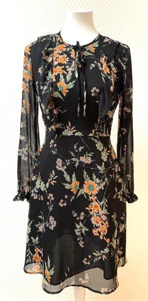 Marks and Spencer Chiffon jurk veelkleurig