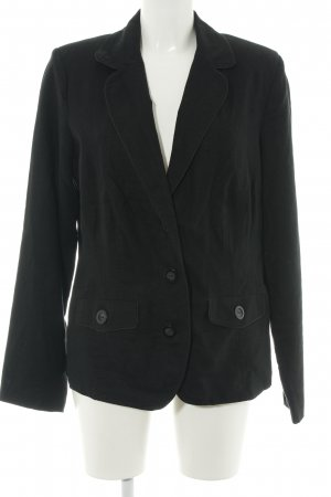 M&S Long-Blazer schwarz Business-Look