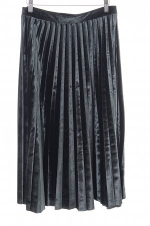 M&S Pleated Skirt black casual look