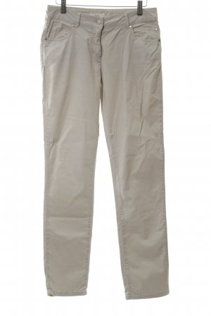 Maas Straight-Leg Jeans creme Casual-Look